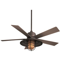 Minka-Aire F582-ORB Rainman 54 inch Oil Rubbed Bronze with Taupe Blades Ceiling Fan