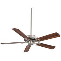 Minka-Aire F588-SP-BN Ultra-Max 54 inch Brushed Nickel with Dark Walnut Blades Ceiling Fan