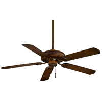 Minka-Aire F589-MW Sundowner 54 inch Mossoro Walnut Outdoor Ceiling Fan