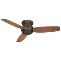 Minka-Aire F594L-ORB Traditional Concept 52 inch Oil Rubbed Bronze with Medium Maple Blades Flush Mount Ceiling Fan