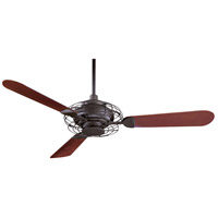 Minka-Aire F601-ORB Acero 52 inch Oil Rubbed Bronze with Aaron Mahogany Blades Ceiling Fan