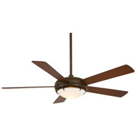 Como 54 inch Oil Rubbed Bronze with Tobacco Blades Ceiling Fan