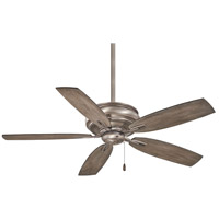 Timeless 54 inch Burnished Nickel with Seashore Grey Blades Ceiling Fan