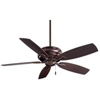 Timeless 54 inch Dark Brushed Bronze with Dark Maple Blades Ceiling Fan