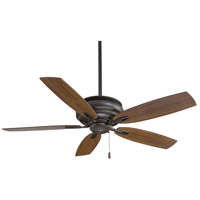 Timeless 54 inch Oil Rubbed Bronze with Medium Maple Blades Ceiling Fan