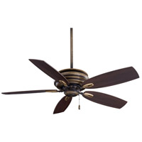 Timeless 54 inch Patina Iron with Dark Maple Blades Ceiling Fan