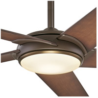 Minka-Aire F617L-ORB/AB Raptor 60 inch Oil Rubbed Bronze With Antique Brass with Tobacco Blades Ceiling Fan alternative photo thumbnail