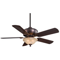 Minka-Aire F620-DBB Bolo 52 inch Dark Brushed Bronze with Dark Maple Blades Ceiling Fan in Avorio Mezzo