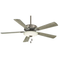 Minka-Aire F656L-BNK Contractor Uni-Pack 52 inch Burnished Nickel with Savannah Gray Blades Ceiling Fan