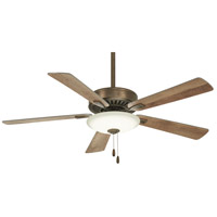 Minka-Aire F656L-HBZ Contractor Uni-Pack 52 inch Heirloom Bronze with Barnwood Blades Ceiling Fan
