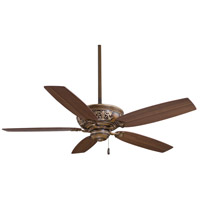 Classica 54 inch Belcaro Walnut with Dark Walnut Blades Ceiling Fan