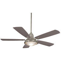 Minka-Aire F681-BNW Groton 56 inch Brushed Nickel Wet with Silver Blades Outdoor Ceiling Fan