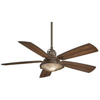 Groton 56 inch Oil Rubbed Bronze with Dark Pine Blades Ceiling Fan