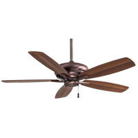 Minka-Aire F688-DBB Kola 52 inch Dark Brushed Bronze with Dark Maple/Dark Walnut Blades Ceiling Fan
