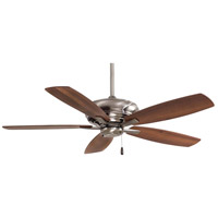 Minka-Aire F688-PW Kola 52 inch Pewter with Dark Maple/Dark Walnut Blades Ceiling Fan