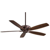 Minka-Aire F689-DBB Kola-XL 60 inch Dark Brushed Bronze with Dark Maple/Dark Walnut Blades Ceiling Fan