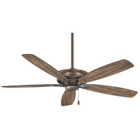 Kafe 52 inch Heirloom Bronze with Aged Boardwalk Blades Ceiling Fan