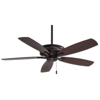 Kafe 52 inch Kocoa with Dark Maple/Toned Medium Maple Blades Ceiling Fan