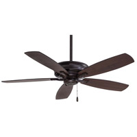 Kafe 52 inch Kocoa with Dark Maple/Toned Med Maple Blades Ceiling Fan
