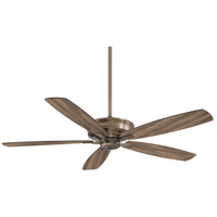 Kafe-XL 60 inch Heirloom Bronze with Aged Boardwalk Blades Ceiling Fan