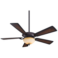 Delano 52 inch Kocoa with Dark Walnut/Medium Maple Blades Ceiling Fan in Dark Walnut / Medium Maple, Rustic Scavo