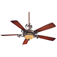 Napoli 56 inch Sterling Walnut Ceiling Fan