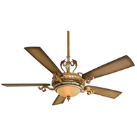 Minka-Aire Napoli 2 Light 56in Ceiling Fan in Tuscan Patina F705-TSP