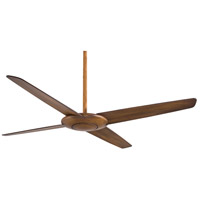 Pancake 52 inch Distressed Koa Ceiling Fan