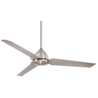 Minka-Aire F753-BNW Java 54 inch Brushed Nickel Wet with Silver Blades Ceiling Fan