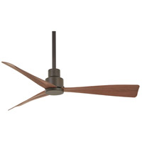 Simple 44 inch Oil Rubbed Bronze with Medium Maple Blades Outdoor Ceiling Fan