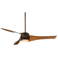 Minka-Aire Artemis 1 Light 58in Ceiling Fan in Copper Bronze F803-CPBR