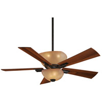 Lineage 54 inch Iron Oxide with Dark Walnut Blades Ceiling Fan