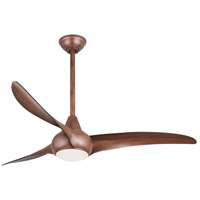 Minka-Aire Light Wave 1 Light 52in Ceiling Fan in Distressed Koa F844-DK