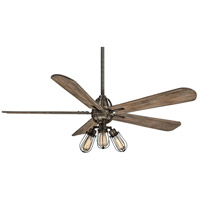 Minka-Aire F852L-HBZ Alva 56 inch Heirloom Bronze with Aged Boardwalk Blades Ceiling Fan