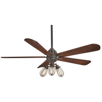 Alva 56 inch Tarnished Iron with Aged Boardwalk Blades Ceiling Fan