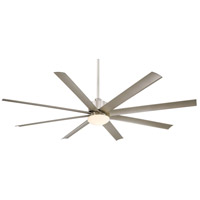 Minka-Aire Slipstream (XXL) 1 Light 84in Ceiling Fan in Brushed Nickel F889-BNW