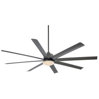 Minka-Aire Slipstream (XXL) 1 Light 84in Ceiling Fan in Smoked Iron F889-SI