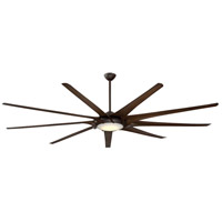Ninety-Nine 99 inch Oil Rubbed Bronze with Tobacco Blades Ceiling Fan