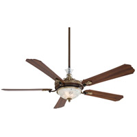 Minka-Aire F900-BCW Cristafano 68 inch Belcaro Walnut with Dark Walnut Blades Ceiling Fan