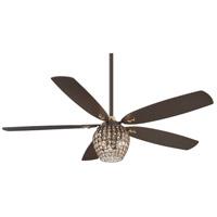 Minka-Aire F902L-ORB Bling 56 inch Oil Rubbed Bronze Ceiling Fan