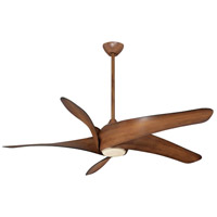 Minka-Aire Artemis Xl5 1 Light Ceiling Fan in Distressed Koa F905-DK