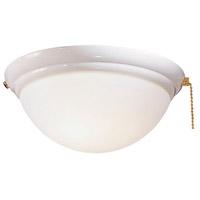 Minka-Aire K9373-L-WH Universal 1 Light Xenon White Fan Light Kit
