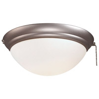 Minka-Aire Signature 1 Light Ceiling Fan Light Kit in Brushed Steel K9374-L-BS