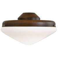 Universal 2 Light Mossoro Walnut Fan Light Kit