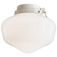 Minka-Aire K9402L-44 Universal 8 inch White Outdoor Fan Light Kit