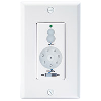 Signature White DC Wall Fan Control, Full Function