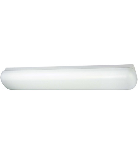 Minka-Lavery Signature 2 Light Fluorescent Flushmount in White 1014-44-PL photo