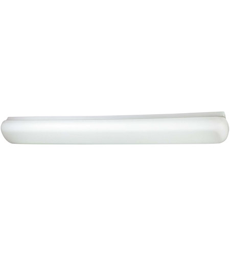Minka-Lavery 1015-44-PL Signature 2 Light 6 inch White Fluorescent Flushmount Ceiling Light photo