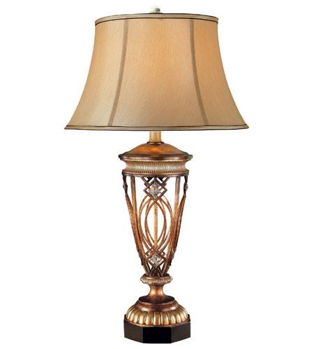 Minka-Lavery Signature 1 Light Table Lamp in Aston Court Bronze 12335-206 photo