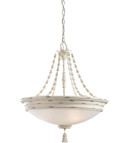 Minka-Lavery 1294-648 Accents Provence 4 Light 23 inch Provencal Blanc Bowl Pendant Ceiling Light photo